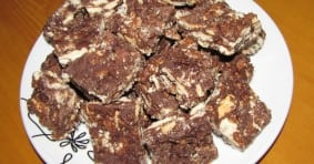 Marie Biscuit Fudge Recipe