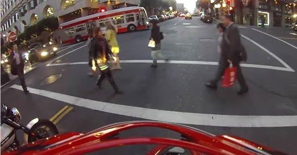 Motorbike Accident Ninja