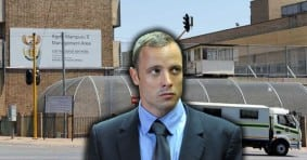 Oscar Pistorius in Jail