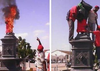 EFF Memorial Vandalism