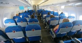 Passengers Inside Boeing Travel