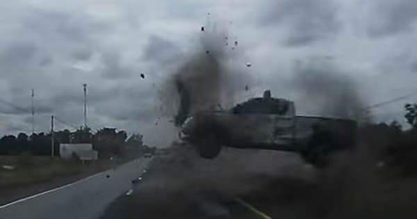 Rolling Truck Near Car Accidents