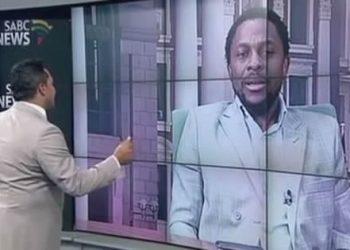 SABC News Achnor Loses Cool