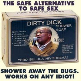 Zuma-hiv-shower