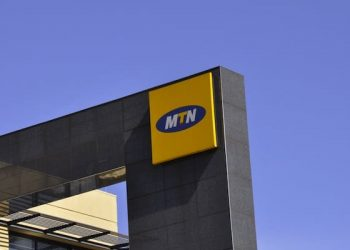 JOHANNESBURG, SOUTH AFRICA - 2 November 2009: MTN sign in Sandton, Johannesburg. (Photo by Gallo Images/Charles Gallo)