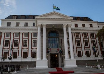 The South African Parliament building. President Jacob Zuma recently delivered the 2013 State of the Nation Address at the premises.